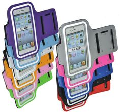 For iphone 5 5S 4 4S Sport Armband Gym Case Cover Pouch Bag Belt Waterproof $1.46-1.68