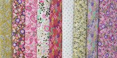 Moda Regent Street Lawns 2016 by Sentimental Studios - imagine the softest, lightest cotton fabric you've ever felt. Now imagine the fabric is awash in beautiful, finely-rendered floral prints in vibrant colors.