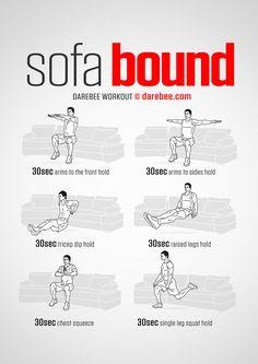 Sofa Bound Workout Yoga Fitness - http://amzn.to/2hmQneS