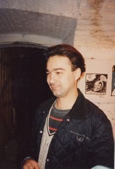 Happening di fumetti e illustrazione underground, CSOA Forte Prenestrino, 1994. Nella foto Robertino