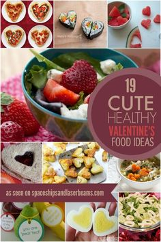 HEALTHY-VALENTINES-FOOD-IDEAS :  Has some wonderful concepts [shapes] and ideas.  So EXPLORE.. ♦♦ #FunFoods  #Creativity  #ValentineDay