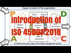 Introduction of the New ISO 45001:2018 - YouTube