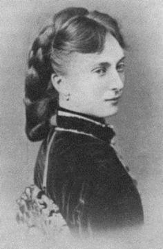 Catherine Dolgorouki, princesse Yurievska (1847-1922) seconde épouse du tsar Alexandre II