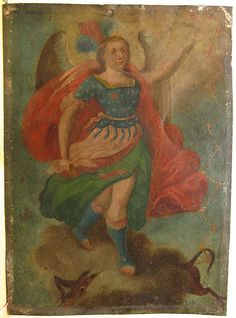 San Miguel Arcangel Retablo by Hessee