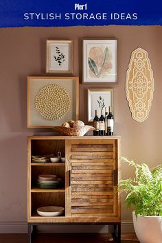 Looking for home storage ideas that aren't an eyesore? Our handcrafted buffets and storage cabinets are museum-worthy in their own right, and they're a jumping-off point for tabletop displays and gallery walls. Home Decor Furniture, Diy Home Decor, Home Interior Design, Interior Decorating, Primitive Kitchen Decor, Eclectic Decor, Bars For Home, Bohemian Decor, Bedroom Decor
