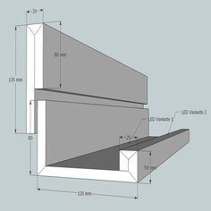 LICHTVOUTE BELLA / für Ausleuchtung der Decke und Raum mit LED / Downlights