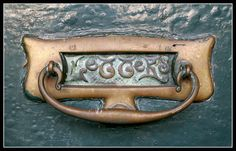 knocker and mail slot