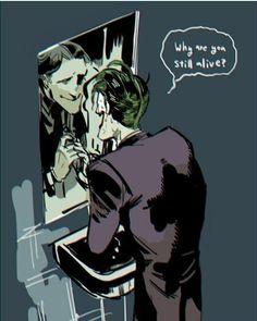 Joker Joker Comic, Joker Dc, Gotham Batman, Batman Art, Joker And Harley Quinn, Joker Dark Knight, Heath Ledger Joker, Univers Dc, Cute Couple Art