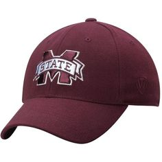 Mississippi State Bulldogs Top of the World Premium 1Fit Flex Hat - Maroon - $22.99