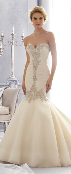 Mori Lee by Madeline Gardner Fall 2014 | more dresses visit: http://999dresses.blogspot.com/