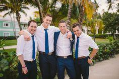 Grand Palladium Punta Cana {Jessica + Philippe} Dominican Republic wedding photographers #casualandrelaxed #bestphotosofgroomsmen