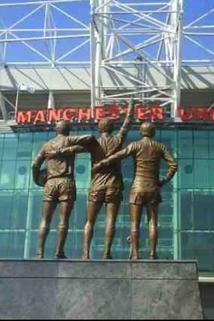 Holy Trinity statue, Old Trafford, Manchester