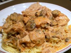 This Super Saucy Chicken over Angel Hair Pasta for the slow cooker is a creamy angel hair pasta with chicken recipe that your whole family will love. The best part about this dish is the sauce! i
