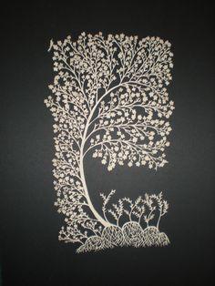 Beni katı' sanatındaki çok sevdiğim ağaçlara kavuşturduğu için sayın Filiz Çağman'a teşekkür ederim. Ayla Sayitoğlu