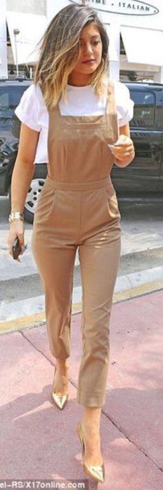 Womens ladies celebrity dungaree pinafore crop top celeb set jumpsuit playsuit