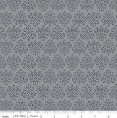 Tuxedo Damask C2696 Gray from the Tuxedo Collection  by Doodlebug Design for RIley Blake Fabrics  1 yard on sale. $6.57, via Etsy.