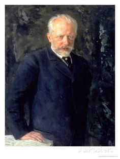 Portrait of Piotr Ilyich Tchaikovsky (1840-93), Russian Composer, 1893, few weeks before his death.