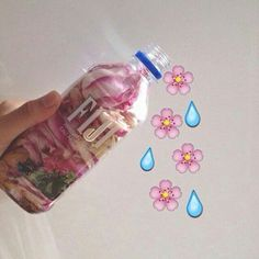 Pink water aesthetic
