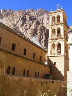 Saint Catherine Monastery in Sinai, Egypt Saint Catherine's Monastery, Sinai Peninsula, Places In Egypt, Mount Sinai, Popular Sites, Visit Egypt, Nile River, Cairo, Ancient Egypt