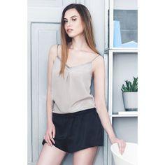 Pajamas – Silky SHORTS / luxury silk / pyjama shorts – a unique product by VUJVUJ on DaWanda