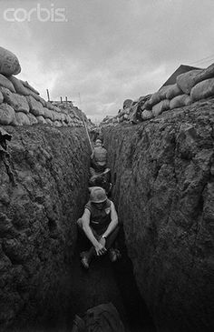 March 1968, Khe Sanh, Vietnam - Khe Sanh, a remote outpost in Vietnam, faced full-scale siege from the North Vietnamese forces during the Vietnam War until it was finally abandoned to the North Vietnamese, two months after the siege began.