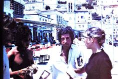 Leonard Cohen #hydra photo by Joseph Maletych