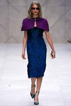 Burberry Prorsum London Fashion Week 2012