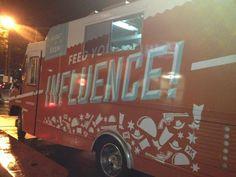 """My dreams come true, a Klout taco truck"" -- via @joefernandez"