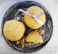Dyniowe ciasteczka bez glutenu i bez jajek
