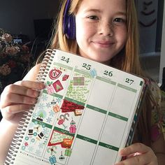 "She said, ""I think I went a little crazy "". Is there such a thing? #eclp #erincondrenlifeplanner #plannercommunity @theniftystudio"