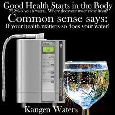 kangen water machine. if you care about your health drink kangen water from enagic machine 4 liters per day