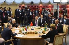 Finance Ministers from the five BRICS countries have met in Ankara on the sidelines of the G20 meeting.