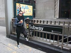 Typical New Yorker #subway #newyork