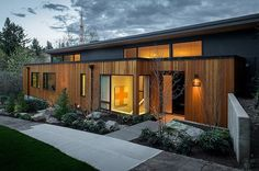 Phenomenal 1950s ranch remodel in Portland Hills