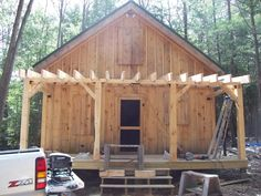 Diary of a 20x24 cabin going up in NH