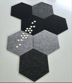Hexagonbrikker 7pk ass farger