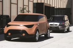 Stomach in, chest out. The Kia Soul gets a nip-tuck.