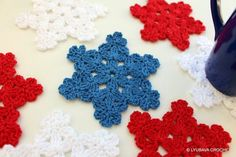 Free crochet coaster pattern using one color. Description from pinterest.com. I searched for this on bing.com/images