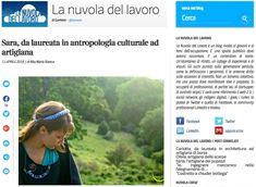 Come sempre... pura emozione! La mia intervista con La nuvola del lavoro, blog del Corriere.it.
