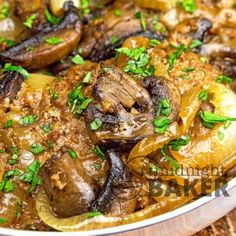 Seared mushrooms give this cube steak dinner fantastic flavor. One skillet is all it takes! Onion Mushroom Cube Steak Is Comfort Food Cube steak just lends itself to comfort food! This is a meal I think most home cooks have in their arsenal. Cube Steak Recipes, Meat Recipes, Cooking Recipes, Beef Dishes, Food Dishes, Main Dishes, Dinner Entrees, Dinner Recipes, Recipes