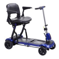 Drive Medical ModelFLEX ZooMe Flex Ultra Compact Folding Travel 4 Wheel Scooter Blue FREE OPCTM Wheelchair Medical Utility bag * Offer can be found by clicking the image Electric Scooter For Kids, Kids Scooter, Trike Scooter, Scooter Parts, Honda, Folding Seat, Scooters For Sale, Stadium Seats, Custom Choppers