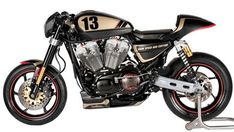 """XRCR"" Harley-Davidson XR 1200 Sportster 2010 by Shaw Speed & Custom | 100 hp | Yamaha MT-03 headlignt | UK"