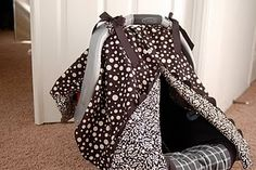 Carseat tent tutorial, making this for the next baby in the family !