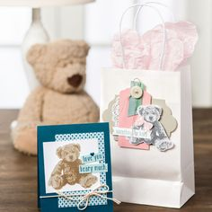 Baby Bear Photopolymer Stamp Set by Stampin' Up!
