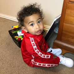 """Jah Anthony 👑 on Instagram: """"Just chillin 🧸"""" Cute Toddlers, Cute Kids, Cute Babies, Luxury Baby Clothes, Cute Baby Clothes, Cute Little Girls Outfits, Baby Boy Outfits, Toddler Boys, Baby Kids"""