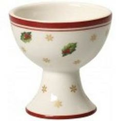 Holly Leaves Egg Cup-Villeroy & Boch Toy's...