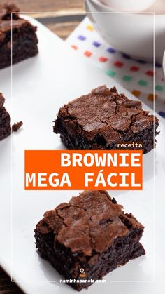Brownie Recipes, Cake Recipes, Dessert Recipes, Dinner Recipes, Diy Food, Food Ideas, Sweet Recipes, Baking Recipes, Food Porn