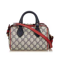 d5880fe45aa7 Plateforme de ventes aux enchères en ligne Catawiki   Gucci - 432123 Sac de  boston