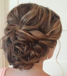 updo wedding hairstyle; via Heather Ferguson: