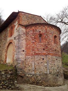 Church of Santa Maria, Torba. Gornate Olona, Varese. Italy